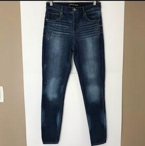 Express hi-rise jeans